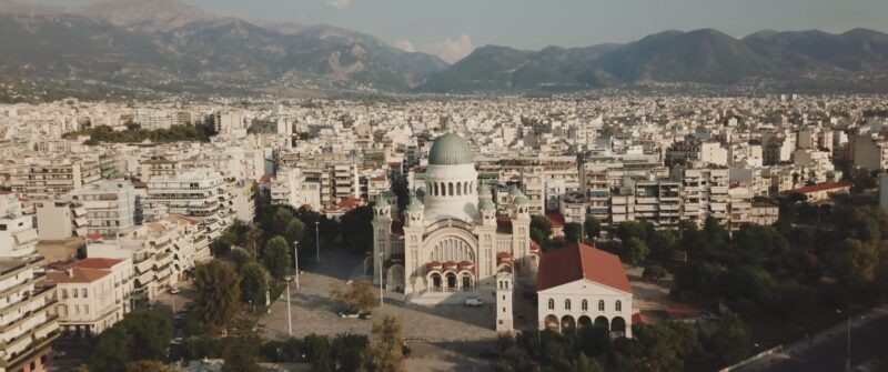 StAndreas church in Greece. Chic wedding in Patras | whitefilming
