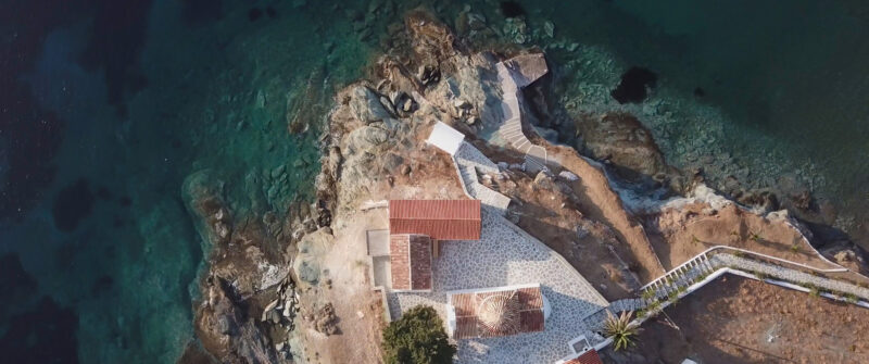 An amazing church in Kythnos island, Greece | whitefilming